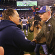 Tom Coughlin and Bill Belichick Photos