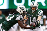 Ryan Fitzpatrick and Chris Ivory Photos Photo