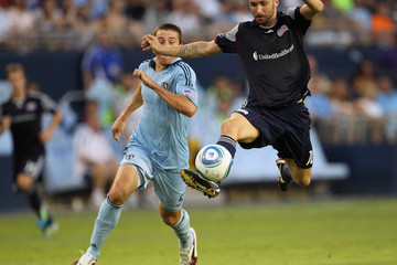 Rajko Lekic New England Revolution v Sporting Kansas City