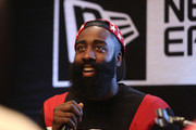 New Era Cap Presents James Harden Q & A And Interactive Design Session