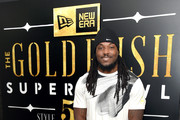 NFL player Chris Ivory attends the New Era Style Lounge at The Battery on February 4, 2016 in San Francisco, California.