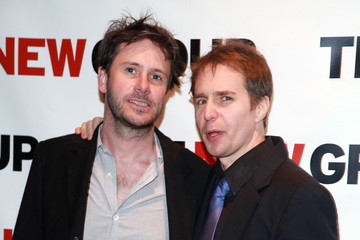 """Sam Rockwell The New Group Celebrates Wallace Shawn's """"Marie And Bruce"""" Off-Broadway Production"""