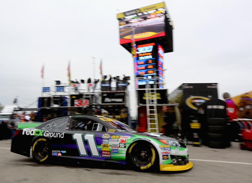 Denny Hamlin Pictures New Hampshire Motor Speedway Day