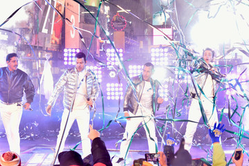 New Kids on the Block Jordan Knight Dick Clark's New Year's Rockin' Eve With Ryan Seacrest 2019