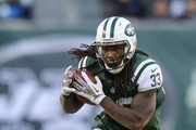 Running back Chris Ivory #33 of the New York Jets carries the ball in the 2nd half of the Jets 26-20 win over the New Orleans Saints at MetLife Stadium on November 3, 2013 in East Rutherford, New Jersey.