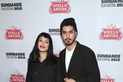 """Cleopatra Coleman and Avan Jogia attend the new SHOWTIME Docuseries """"Wu-Tang Clan: Of Mics & Men"""" celebration at Stella's Film Lounge during the 2019 Sundance Film Festival at Stella's Film Lounge on January 28, 2019 in Park City, Utah."""