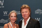 Richard Wilkins and Virginia Burmeister attend the official opening of the Sydney Coliseum Theatre on December 21, 2019 in Sydney, Australia.