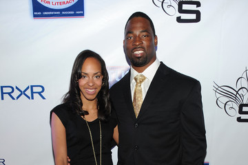 "Lauran Tuck New York Giant Just Tuck's ""Rush For Literacy"" Charity Reception"