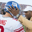 Eli Manning and Michael Strahan Photos