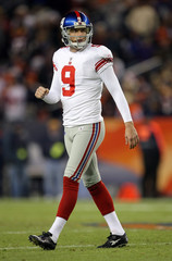 Lawrence Tynes New York Giants v Denver Broncos