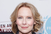 Actress Amy Ryan attends the Lost Girls New York premiere during The Athena Film Festival at The Diana Center at Barnard College on February 29, 2020 in New York City.