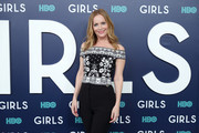 """Actress Leslie Mann attends the New York Premiere of the Sixth & Final Season of """"Girls""""  at Alice Tully Hall, Lincoln Center on February 2, 2017 in New York City."""