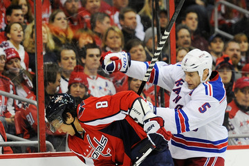 Daniel Girardi New York Rangers v Washington Capitals