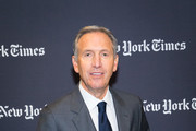 Howard Schultz speaks attends The New York Times 2017 DealBook Conference at Jazz at Lincoln Center on November 9, 2017 in New York City.