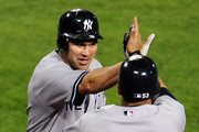Johnny Damon and Melky Cabrera Photos Photo