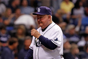 Don Zimmer New York Yankees v Tampa Bay Rays