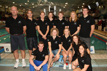 Hayley Palmer Gareth Kean New Zealand Commonwealth Games Swimming Squad Announcement