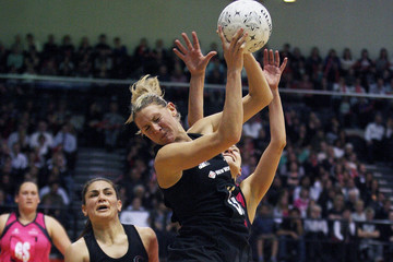 Francis Solia New Zealand Silver Ferns v World 7
