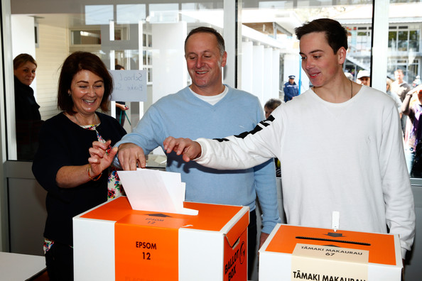 New Zealanders Head To The Polls To Vote In General Election