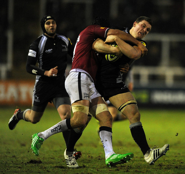 Newcastle Falcons v Sale Sharks - LV= Cup