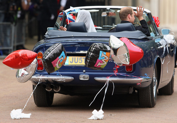 Prince+William In Newlywed Royals Leave Wedding Reception