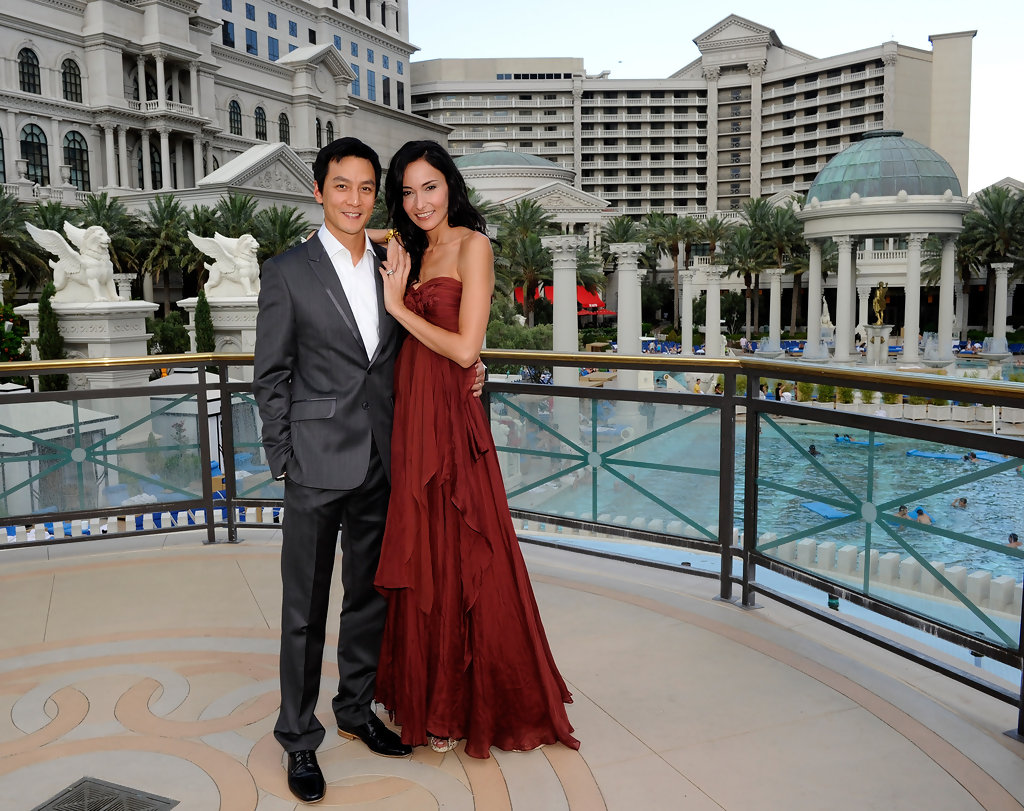 daniel wu in newlyweds daniel wu and lisa selesner at
