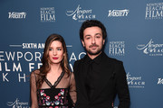 Nettie Wakefield and Alex Zane attend the Newport Beach Film Festival UK Honours 2020 at The Langham Hotel on January 29, 2020 in London, England.