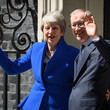 Theresa May and Philip May Photos