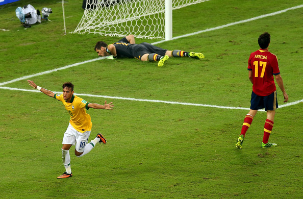 Confederations cup brazil 2013 final match between brazil and spain at