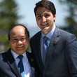 Nguyen Xuan Phuc Heads Of State Attend G7 Meeting - Day Two