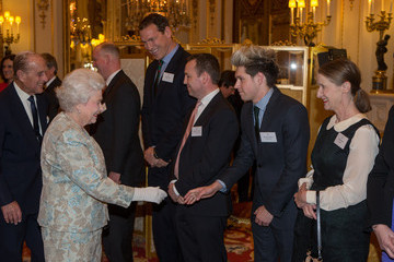 Niall Horan Queen Elizbaeth II Hosts Irish Community Reception