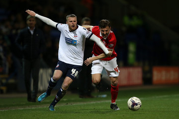 Niall Maher Bolton Wanderers v Charlton Athletic - Sky Bet Championship