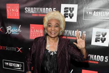 Nichelle Nichols 'Sharknado 5: Global Swarming' Premiere at the LINQ Hotel & Casino