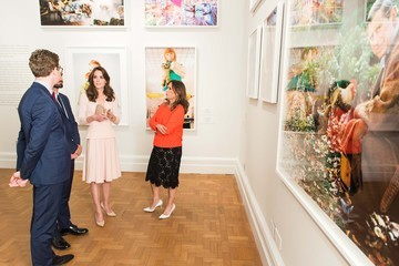 Nicholas Cullinan The Duchess of Cambridge Visits the 'Vogue 100: A Century of Style' Exhibition