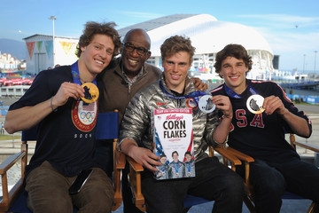 Nicholas Goepper Olympians Reveal New Boxes of Corn Flakes