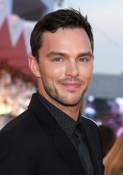 'Joker' Red Carpet Arrivals - The 76th Venice Film Festival [hair,face,hairstyle,eyebrow,forehead,premiere,chin,facial hair,white-collar worker,smile,red carpet arrivals,joker,nicholas hoult,sala grande,red carpet,venice,italy,76th venice film festival,screening]
