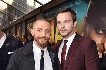 Nicholas Hoult Tom Hardy Premiere Of Warner Bros. Pictures' 'Mad Max: Fury Road' - Red Carpet