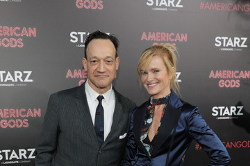Nicholle Tom Premiere Of Starz's 'American Gods' - Arrivals