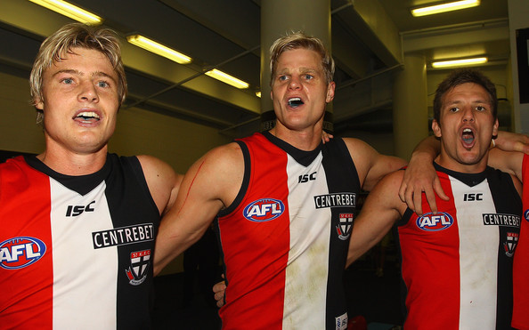 nick riewoldt mark. Nick Riewoldt and Dean Polo