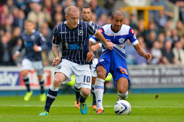 Nick Bailey Millwall v Queens Park Rangers - Sky Bet Championship