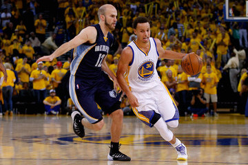Nick Calathes Memphis Grizzlies v Golden State Warriors - Game One