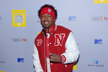 Nick Cannon MTV's 2017 College Signing Day with Michelle Obama - Arrivals