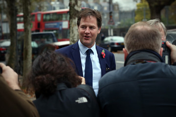 Nick Clegg Liberal Democrats Hold a London Memorial Service for Former Leader Charles Kennedy
