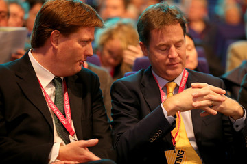 Nick Clegg Danny Alexander Liberal Democrats Annual Party Conference: Day 4