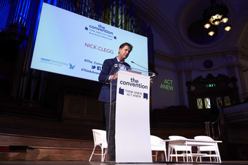 Nick Clegg The Convention Conference on Brexit and the Political Crash in Westminster