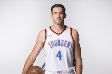 Nick Collison Oklahoma City Thunder Media Day
