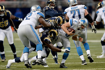 Nick Fairley Detroit Lions v St Louis Rams
