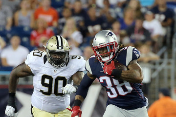 Nick Fairley New Orleans Saints v New England Patriots