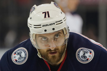 Nick Foligno Columbus Blue Jackets v New York Rangers