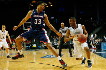 Nick Griffin Atlantic 10 Basketball Tournament: Second Round